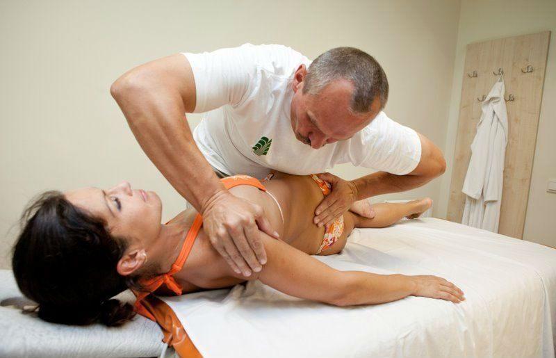 массаж поясничного отдела при простатите